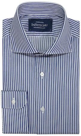 InStitchu Collection Toowong Blue Striped Shirt