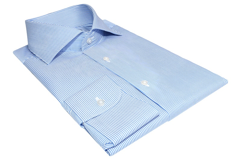 InStitchu Collection Werribee Blue Striped Shirt