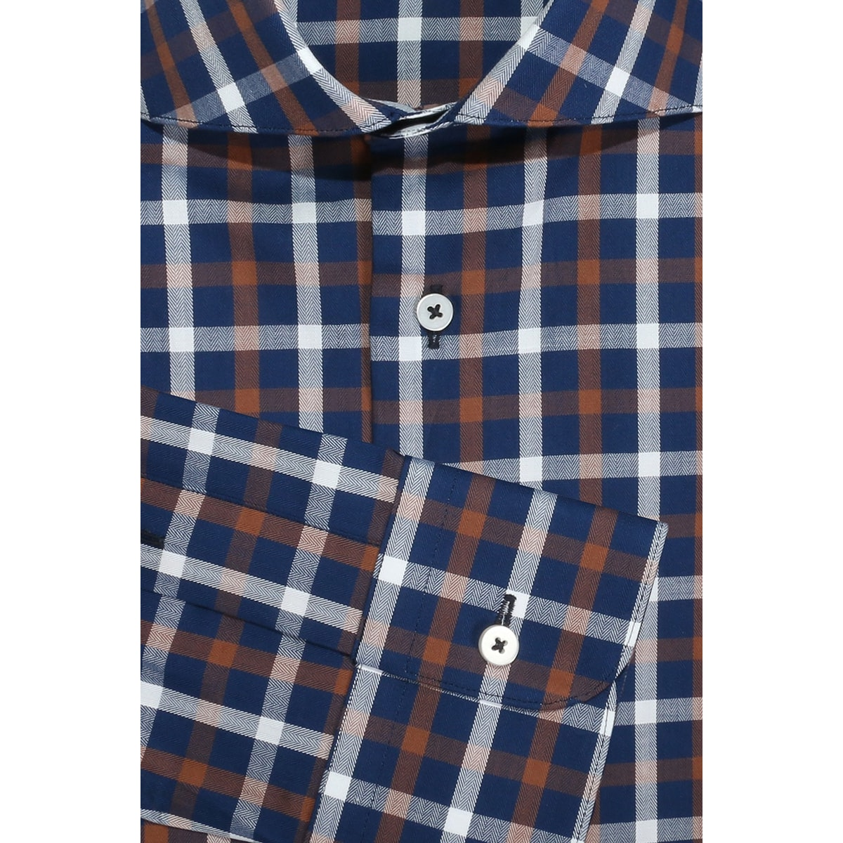 InStitchu Collection Woodvale Blue Check Shirt