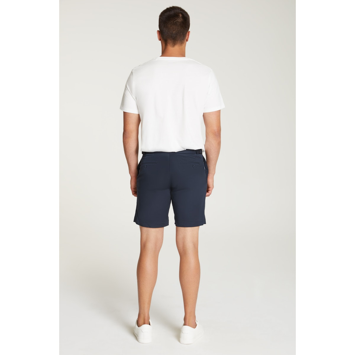 InStitchu Collection The Scala Navy Cotton Shorts