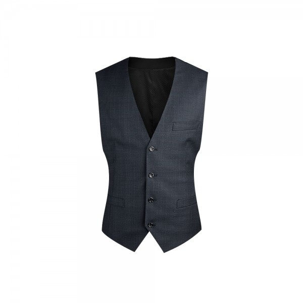 InStitchu Collection Charcoal Vest