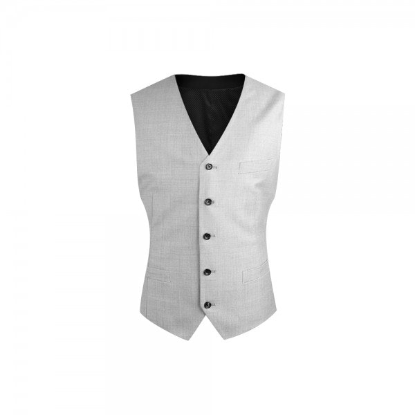 InStitchu Collection Pale Grey Vest