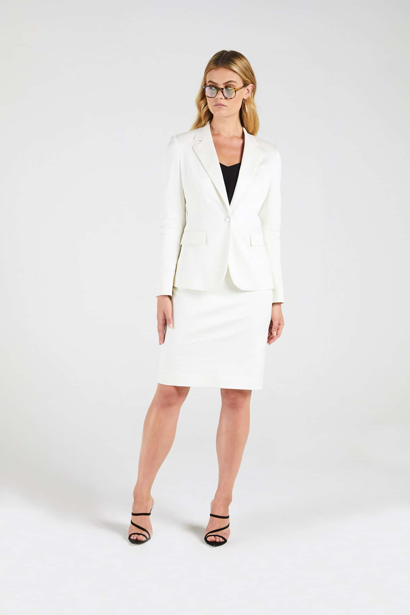 InStitchu Collection The Buttrose Cream Jacket