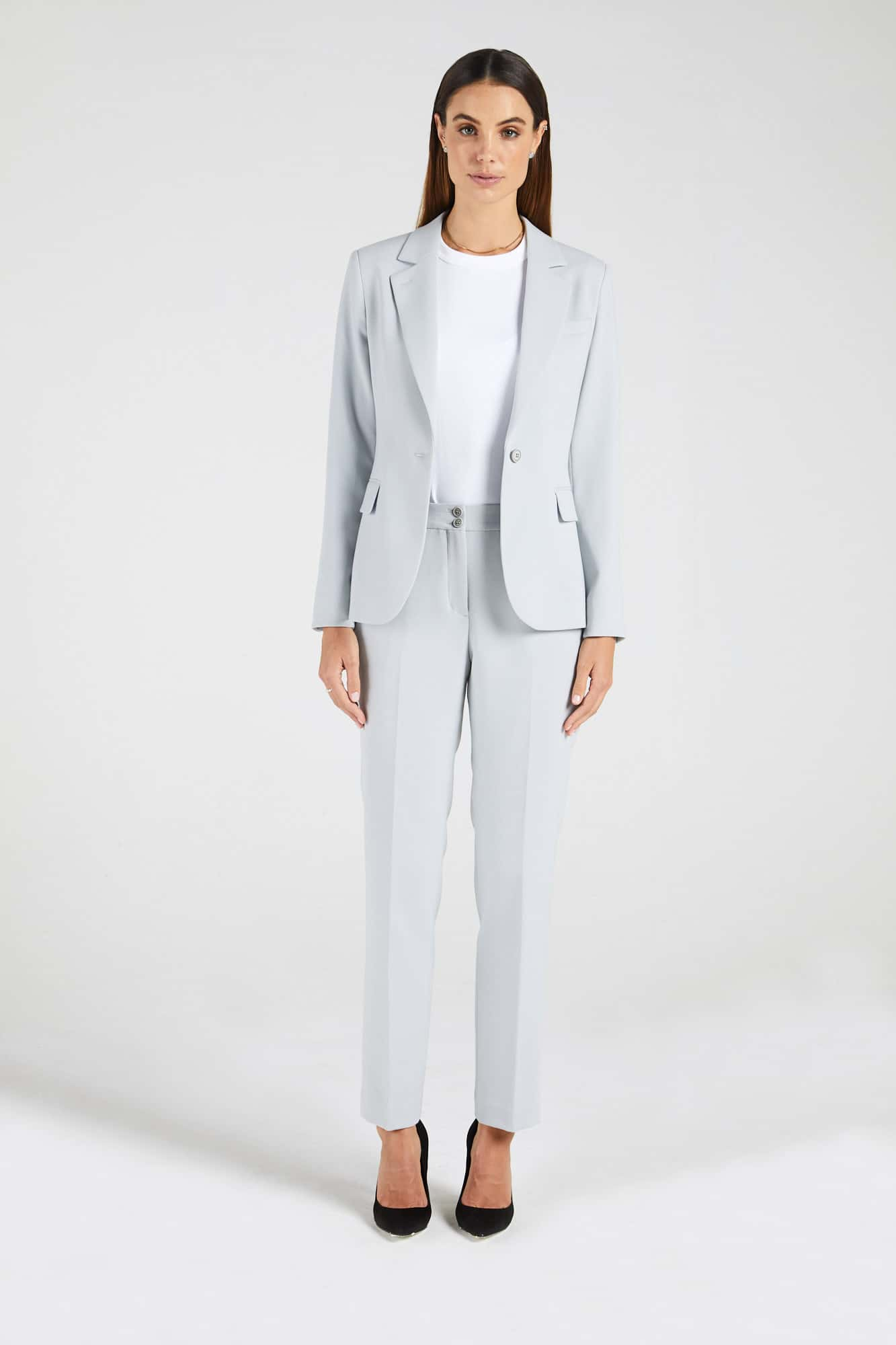 InStitchu Collection The Cawley Powder Grey Jacket