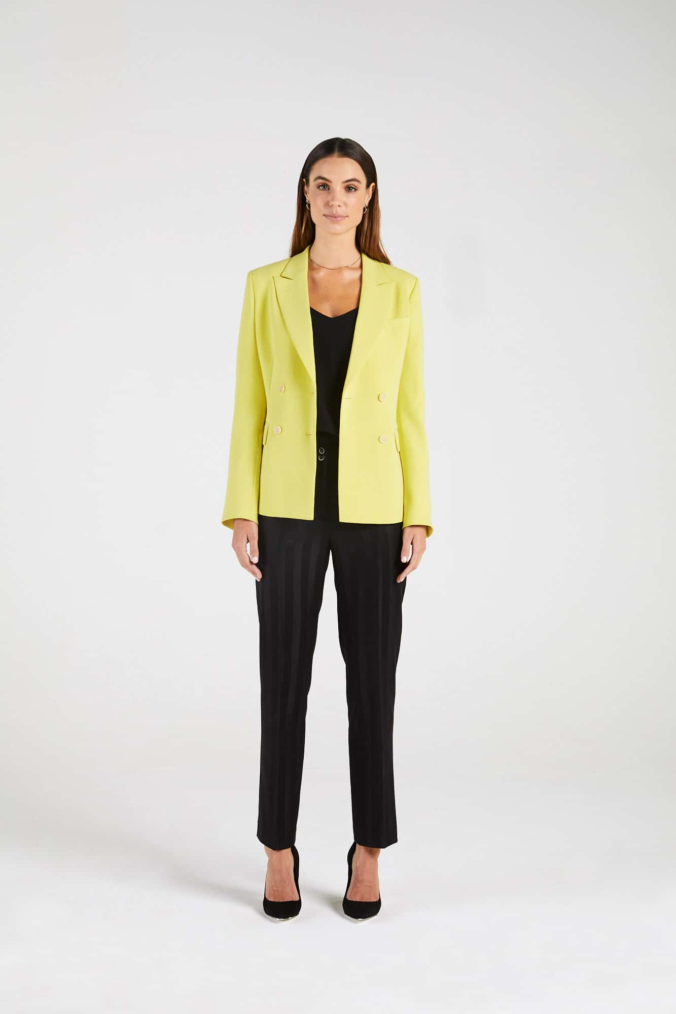 InStitchu Collection The Freeman Yellow Blazer