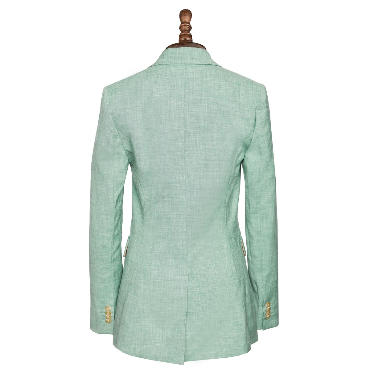 InStitchu Collection The Greenfield Green Sharkskin Jacket