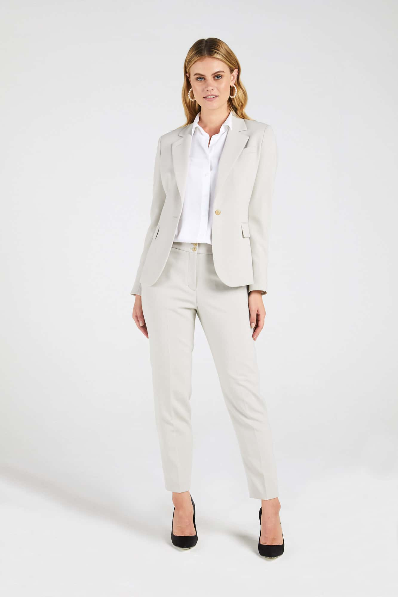 InStitchu Collection The Kenny Taupe Jacket