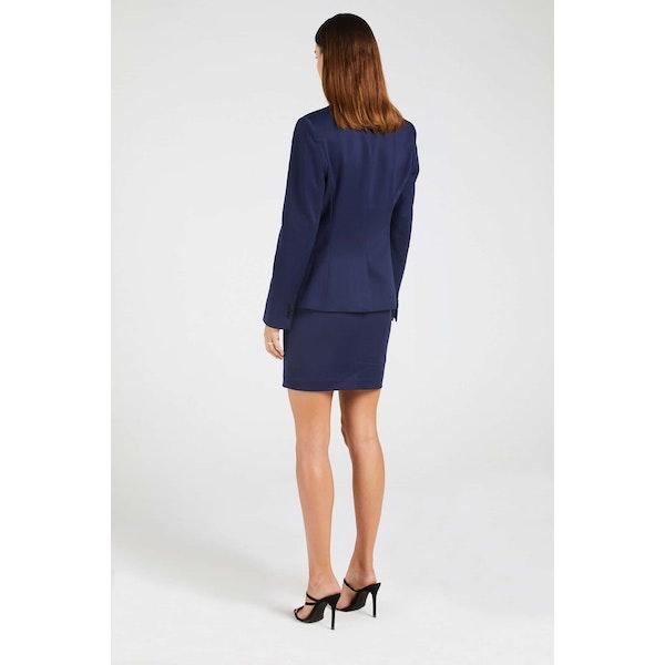 InStitchu Collection The Melba Navy Blue Jacket