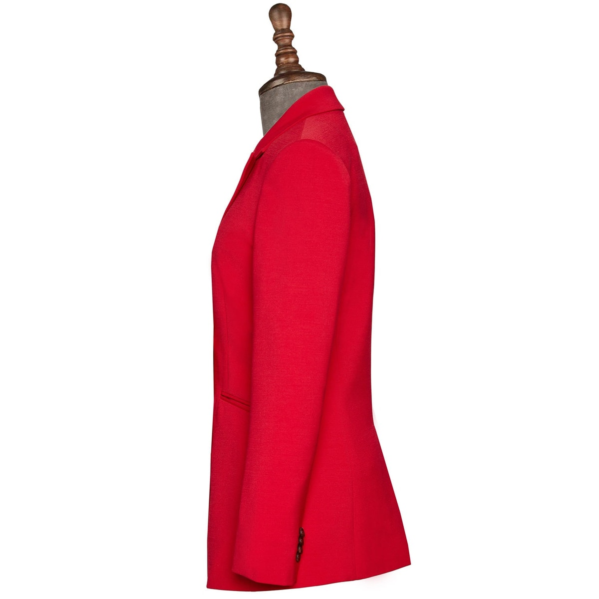 InStitchu Collection The Rosebud Red Jacket