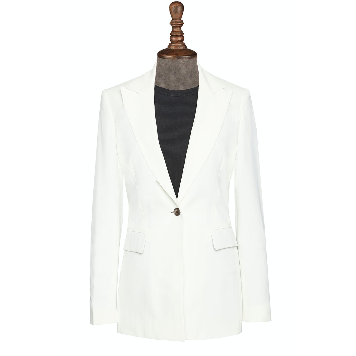 InStitchu Collection The Whitehaven Cream Jacket