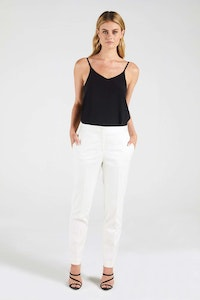 InStitchu Collection The Buttrose Cream Pants