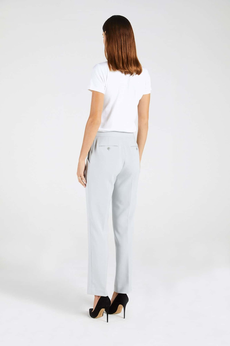 InStitchu Collection The Cawley Powder Grey Pants