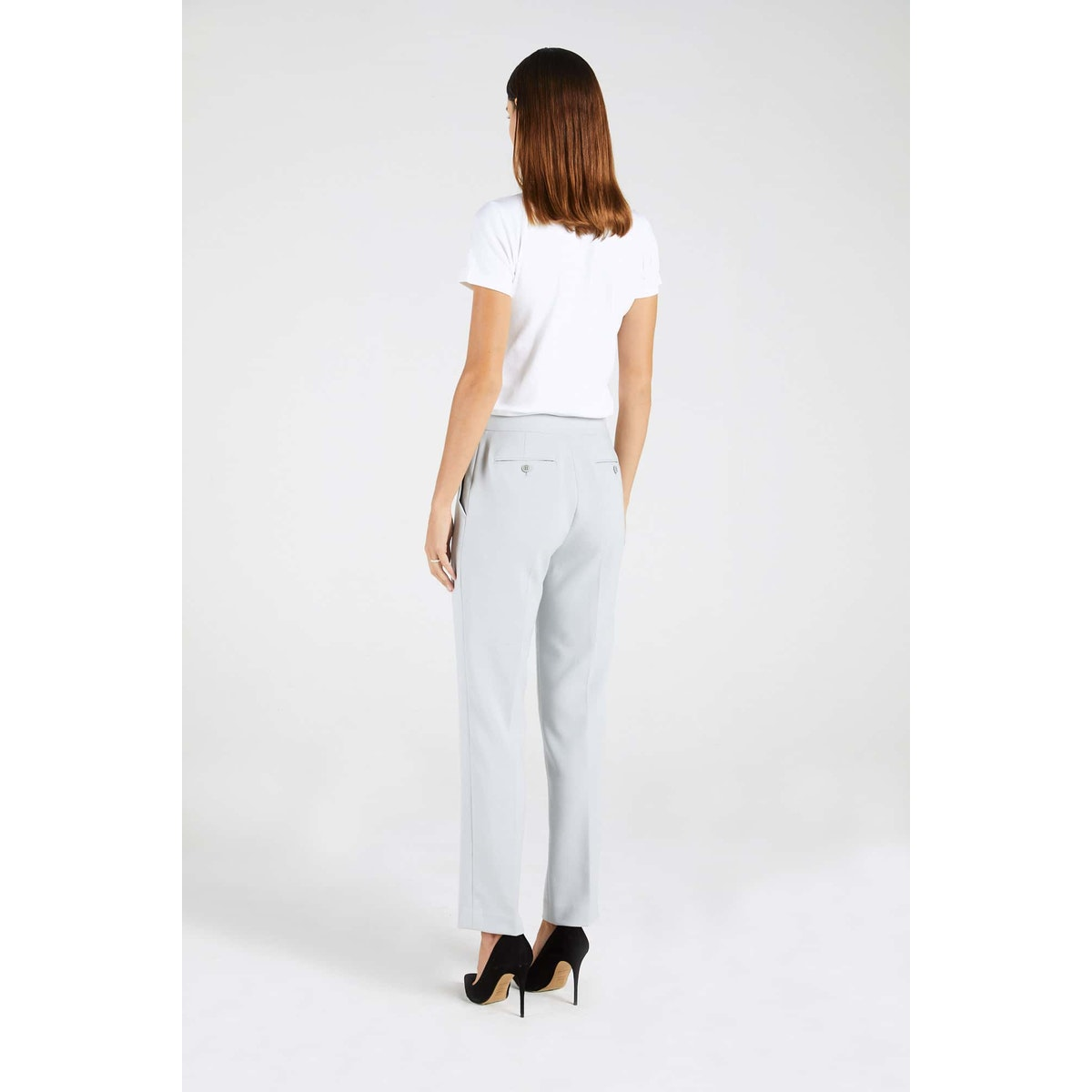 InStitchu Collection The Cowan Powder Grey Pants