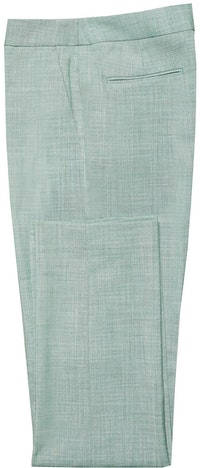 InStitchu Collection The Greenfield Green Sharkskin Pant