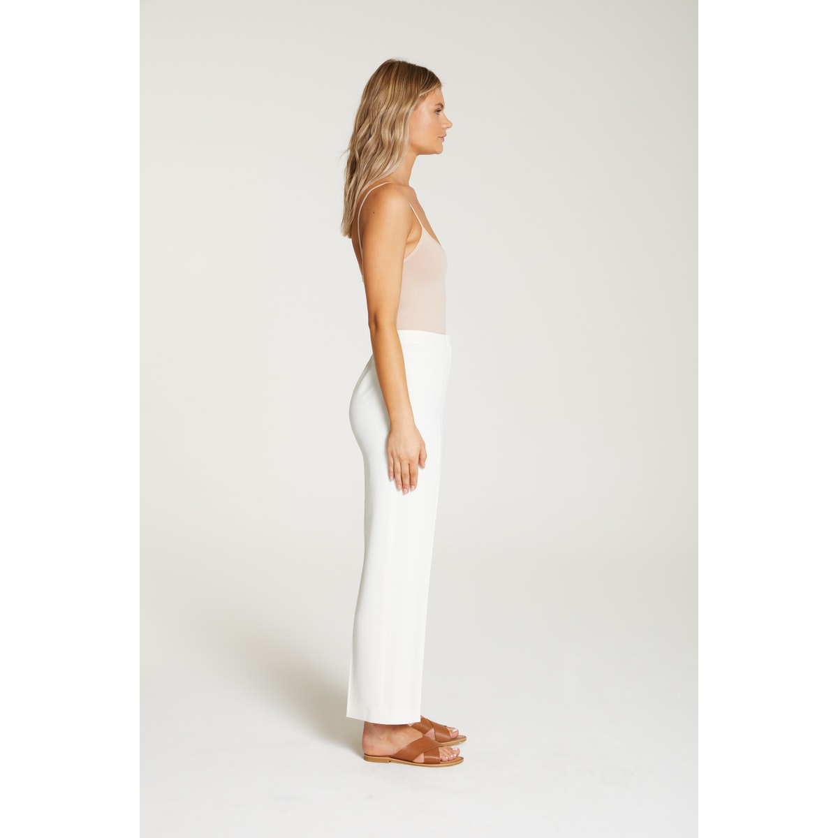 InStitchu Collection The Hepworth White Pants