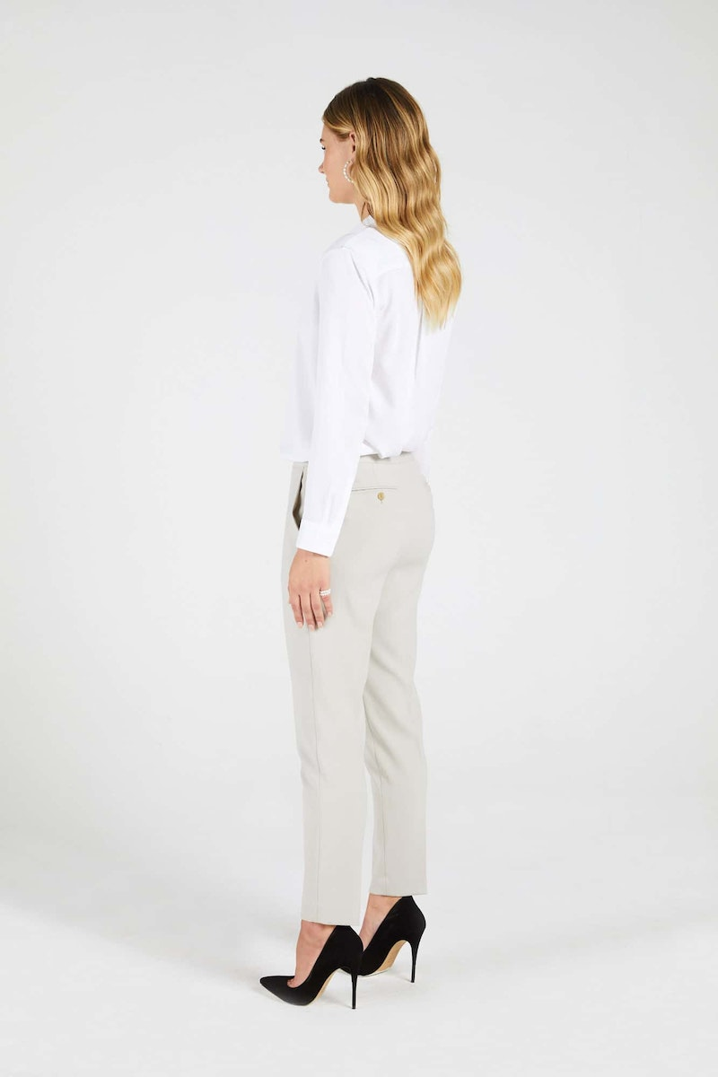InStitchu Collection The Kenny Taupe Pants