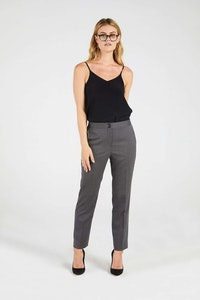 InStitchu Collection The Kidman Charcoal Pinhead Pants