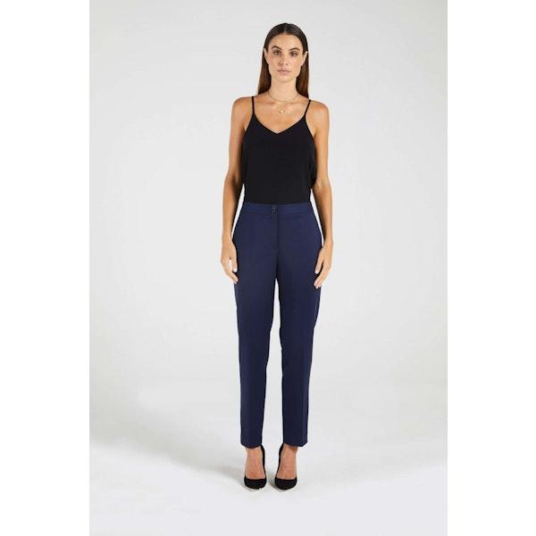 InStitchu Collection The Melba Navy Blue Pants