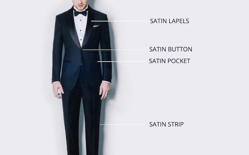 How a tuxedo differs to a suit
