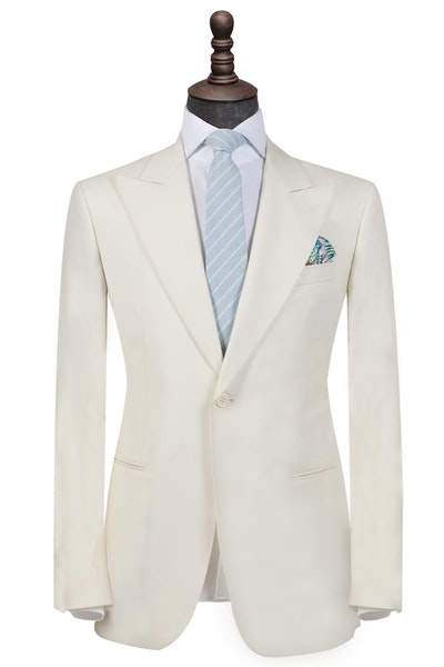 InStitchu Collection The Cream Tuxedo Jacket