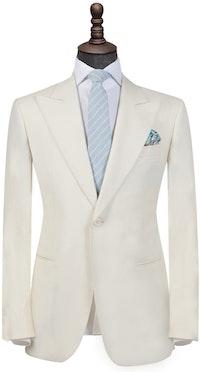 InStitchu Collection The Cream Tuxedo mens suit