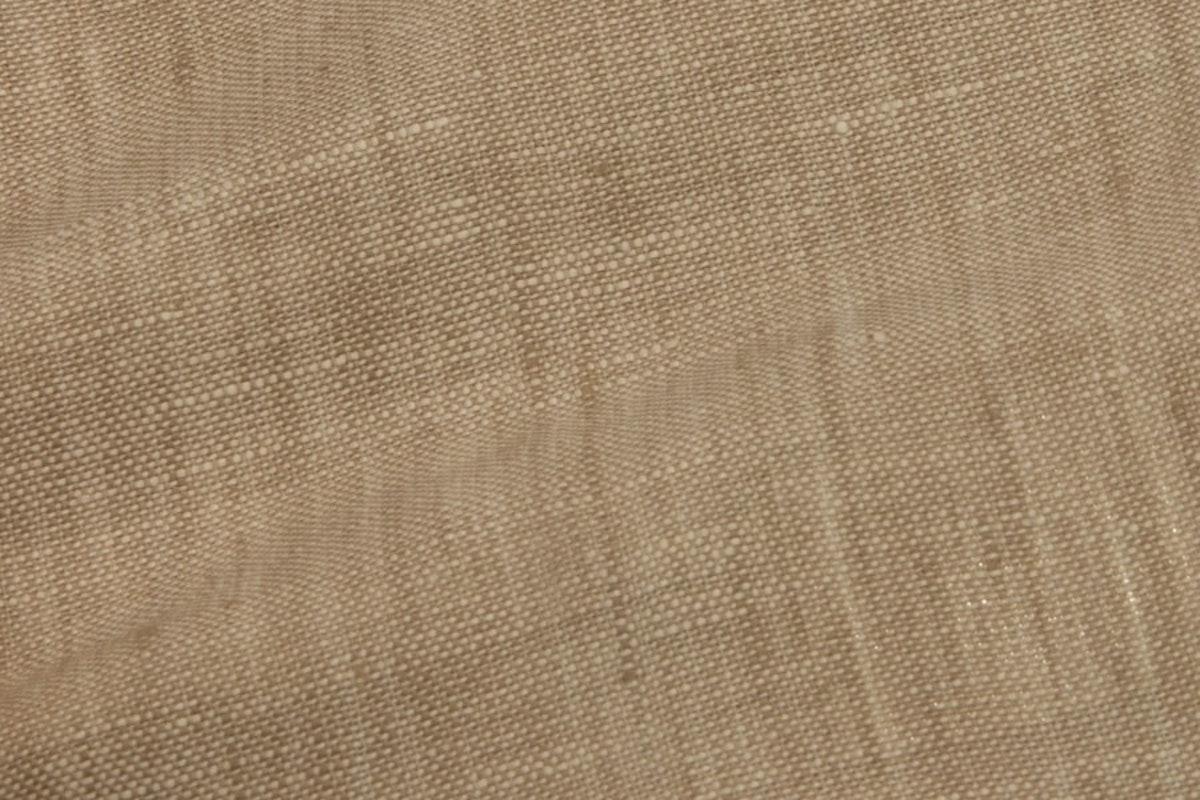 Light Brown Pure Linen Pants