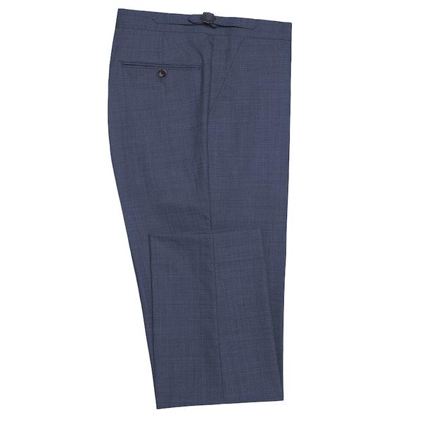 Midnight Blue Linen Pants