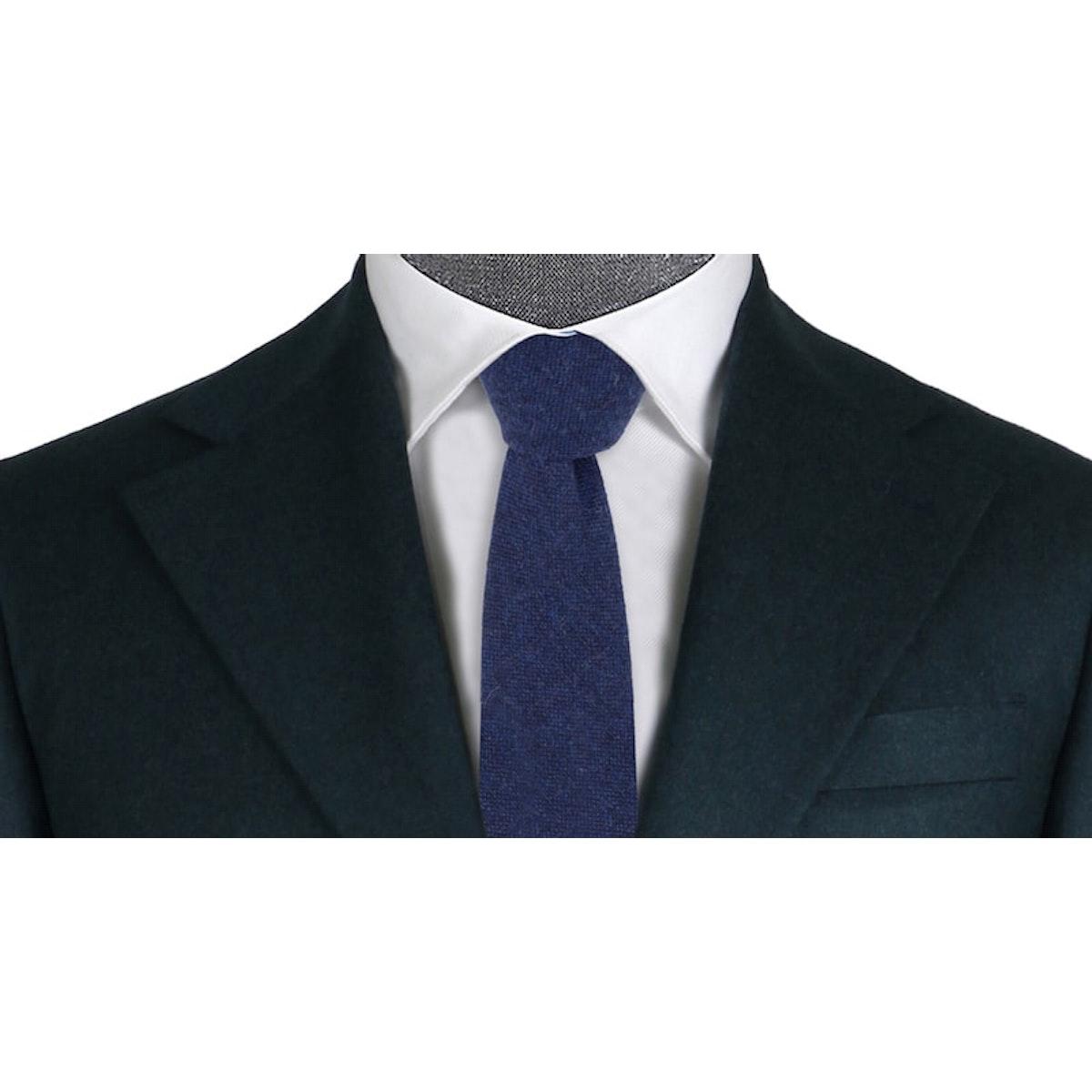 Lonsdale Dusty Dark Blue Flannel
