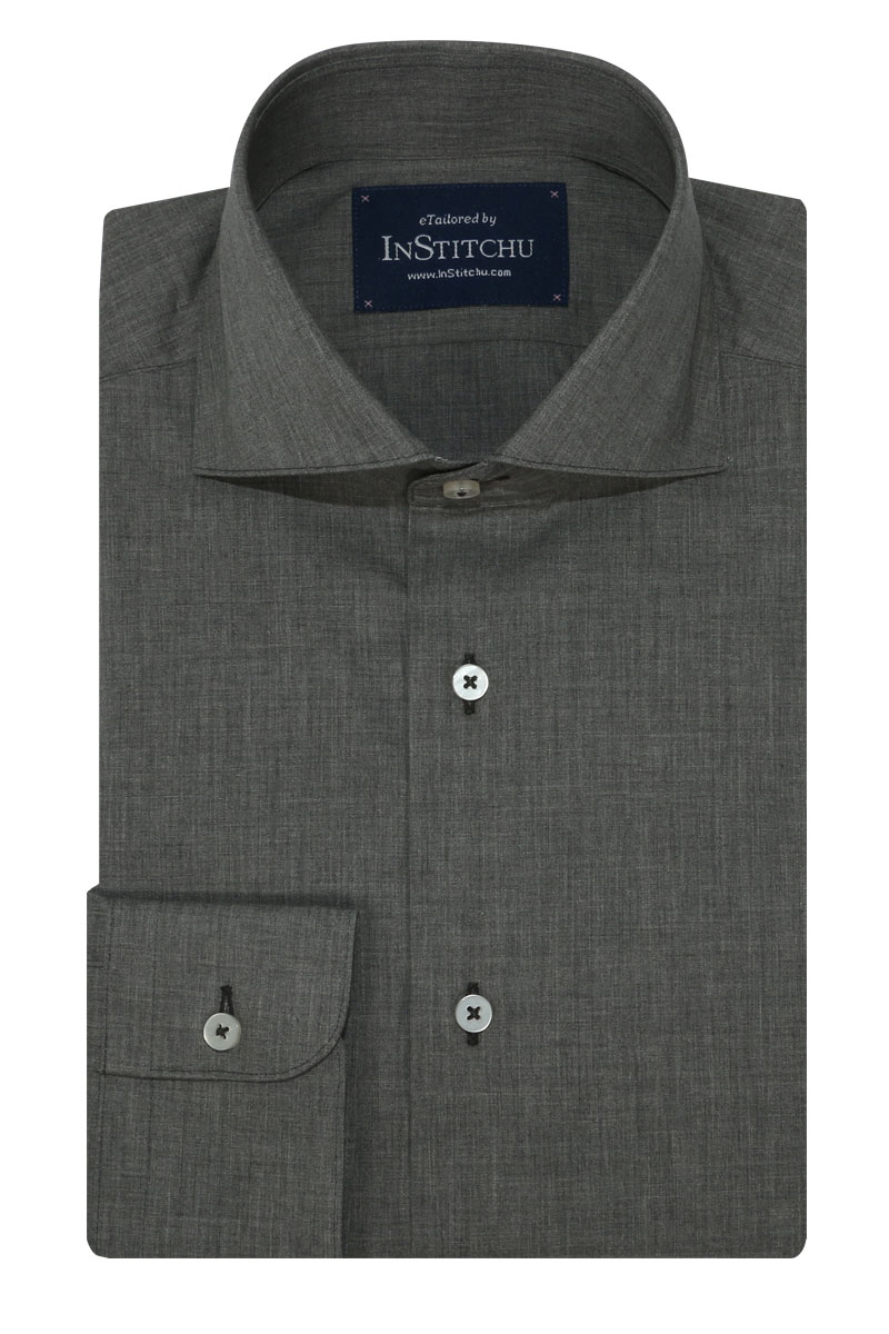 InStitchu Collection Autumn Grey Cotton