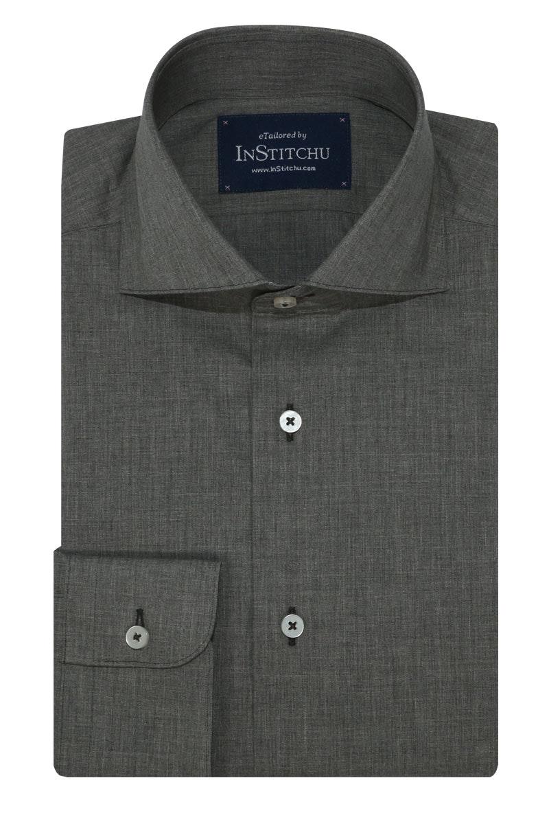 InStitchu Collection Autumn Grey Cotton