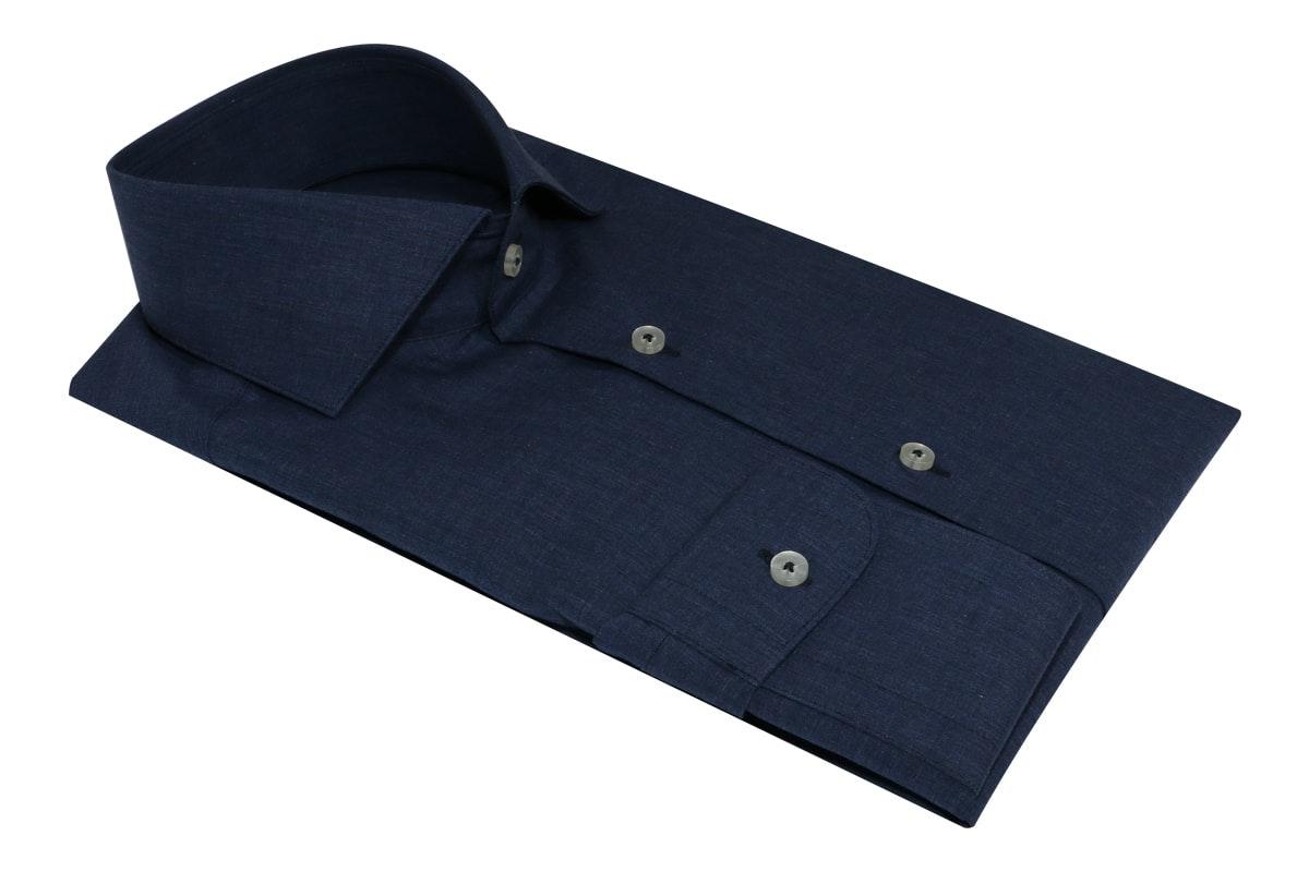 InStitchu Collection Autumn Prussian Blue Cotton