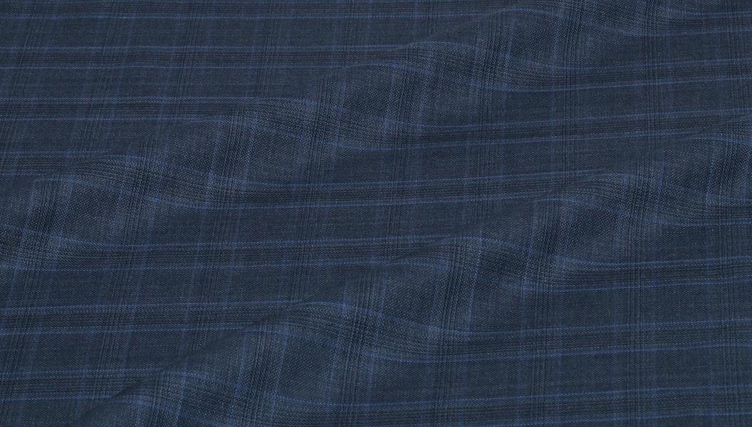 Blue Windowpane Jacket