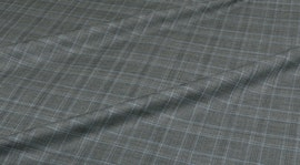 Grey Windowpane Jacket