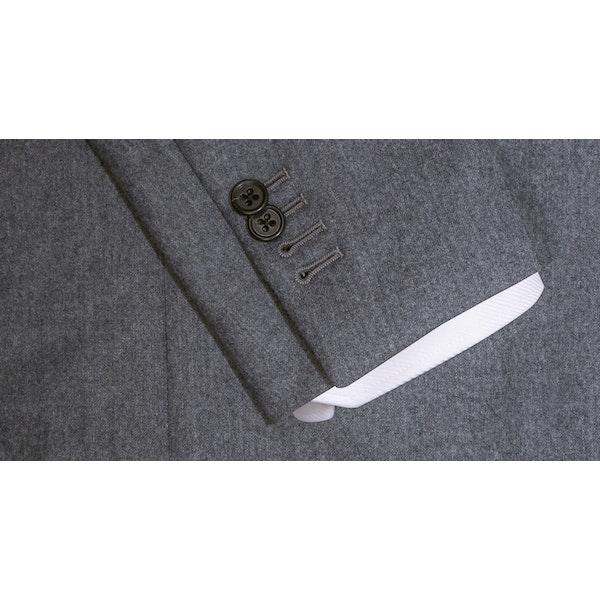 Henry Dark Grey Flannel