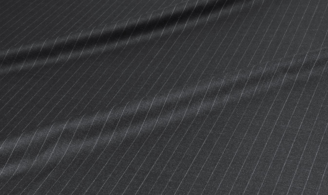 Vitale Barberis Charcoal Pinstripe Jacket