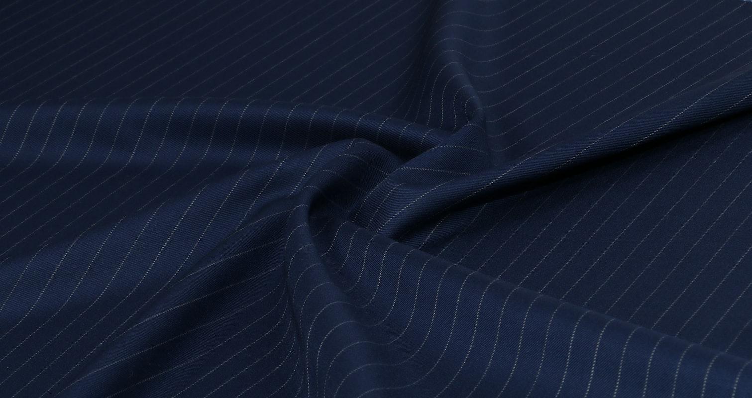 Vitale Barrberis Blue Pinstripe Jacket