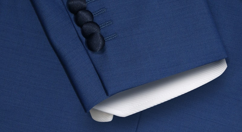 Flynn Double Breasted Blue and Navy Tuxedo