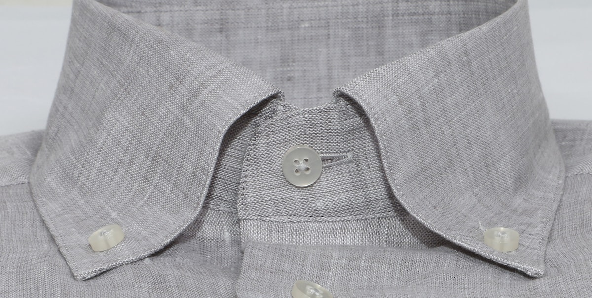 InStitchu Collection Pure Slate Grey Linen