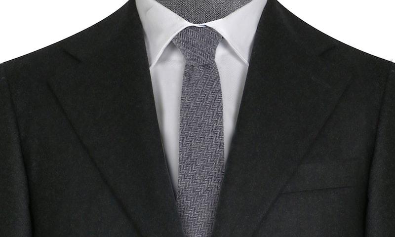 Flinders Charcoal Flannel
