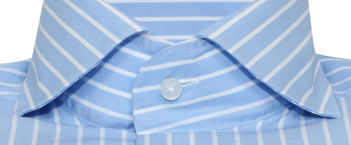InStitchu Collection Baby Blue Bold Smart Stripe