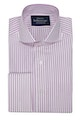 InStitchu Collection Berry Purple Thin Smart Striped