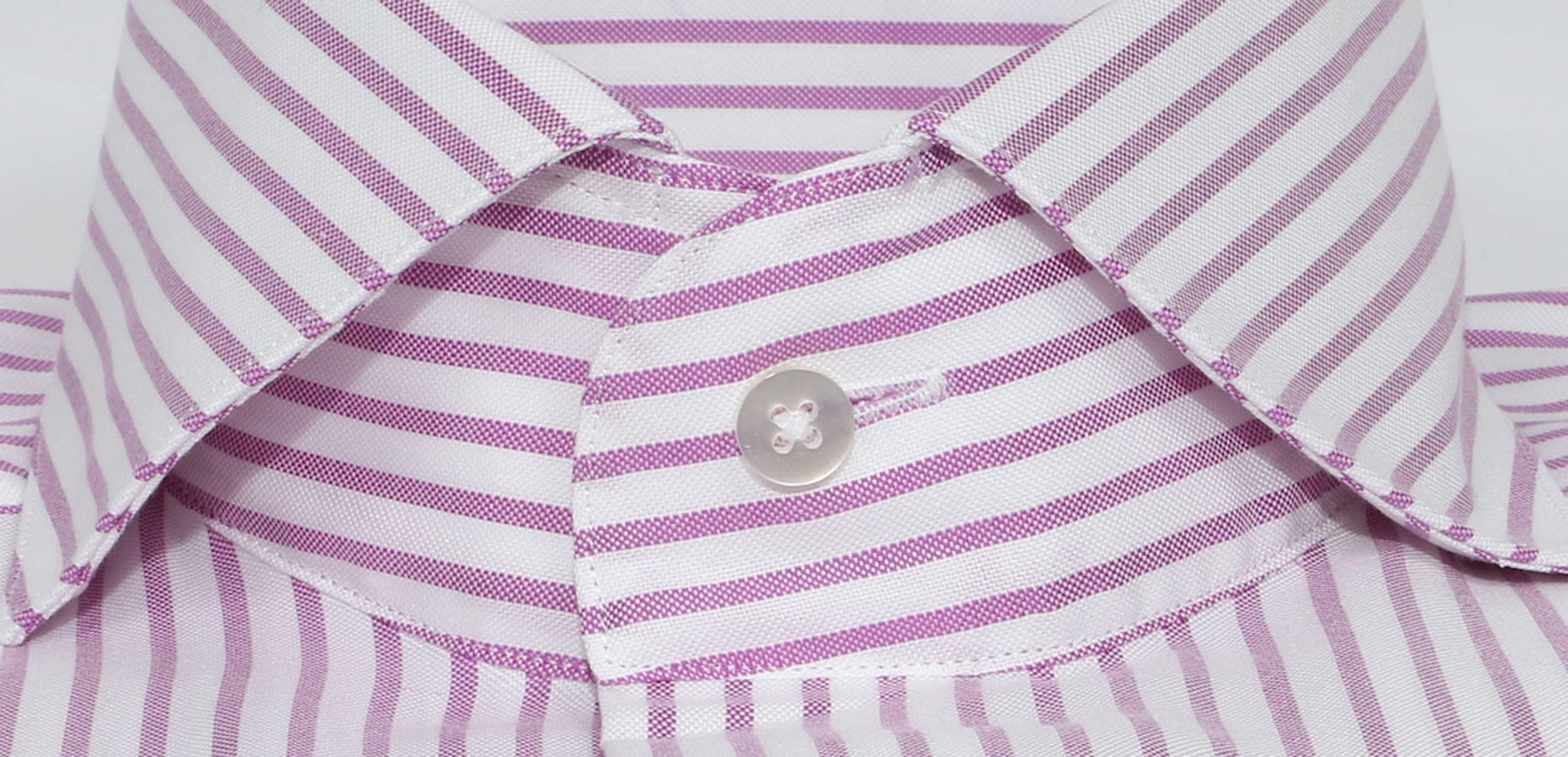 InStitchu Collection Berry Purple Thin Smart Striped