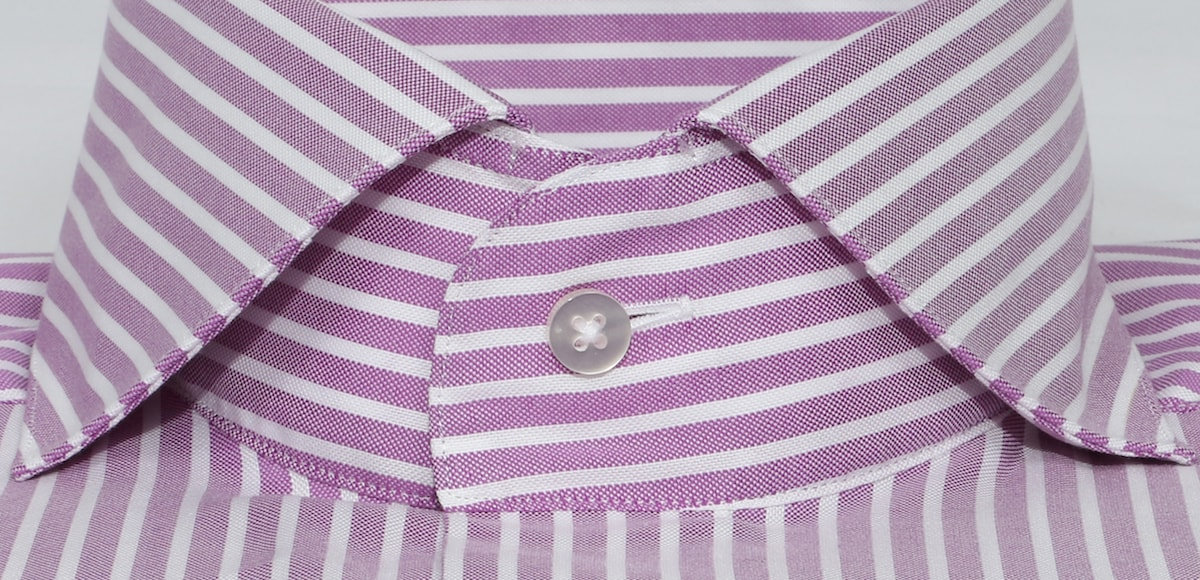 InStitchu Collection Berry Purple Bold Smart Striped