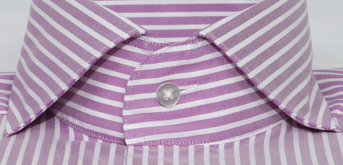 InStitchu Collection Berry Purple Bold Smart Striped