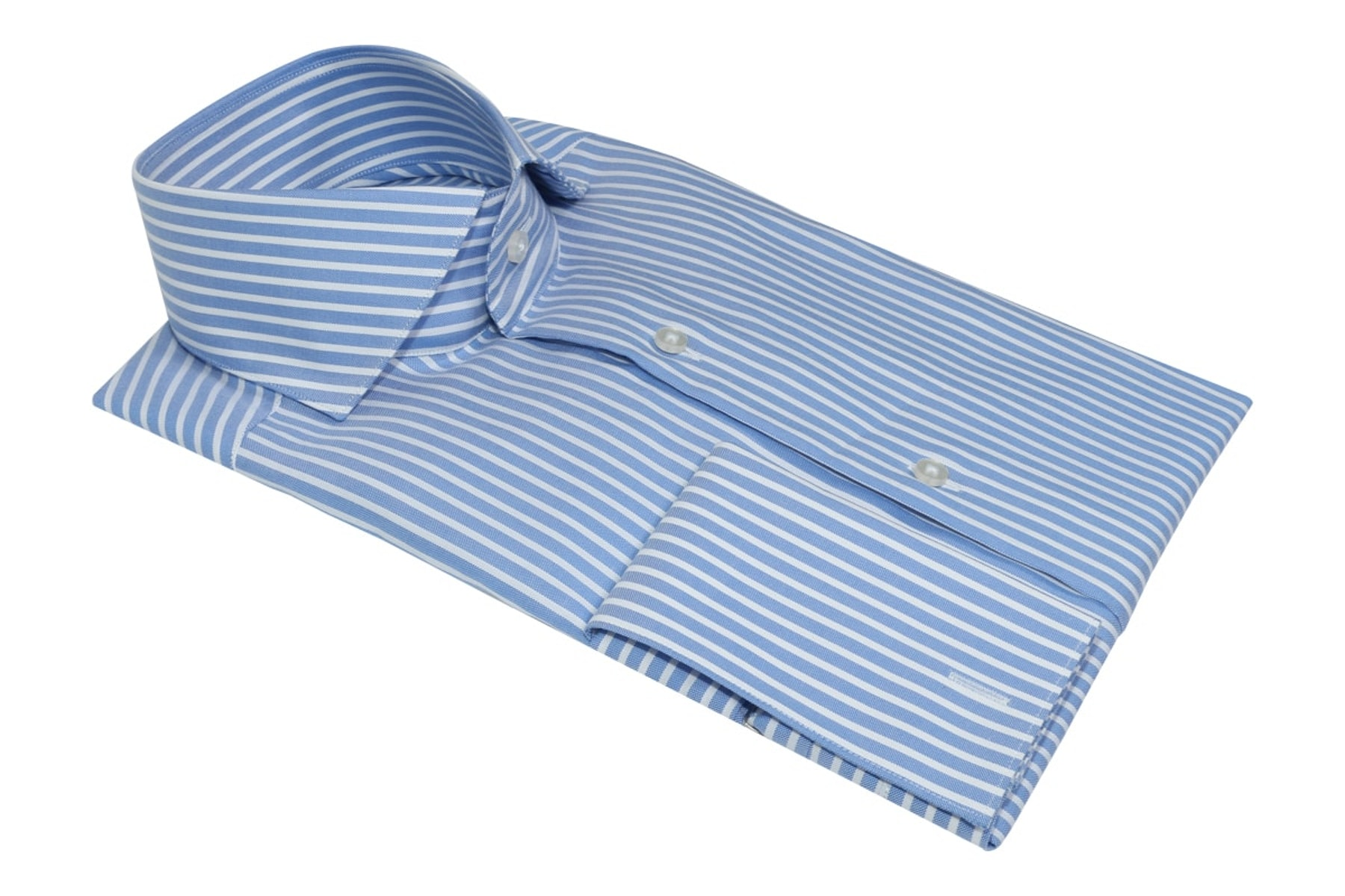 InStitchu Collection Glaucous Blue Bold Smart Striped