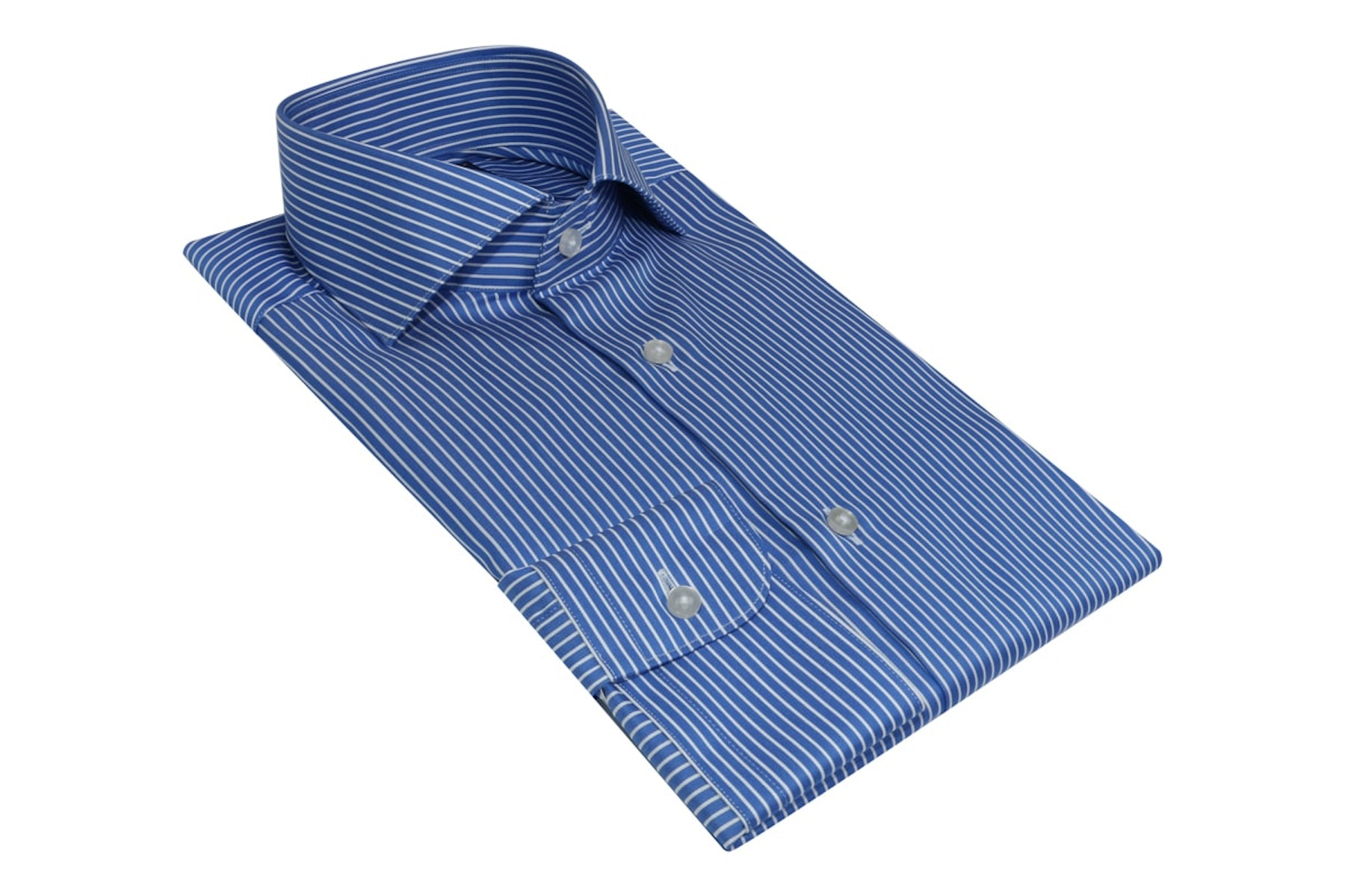 InStitchu Collection Wrinkle Free Royal Blue