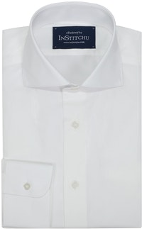 InStitchu Collection Wrinkle Free Plain White