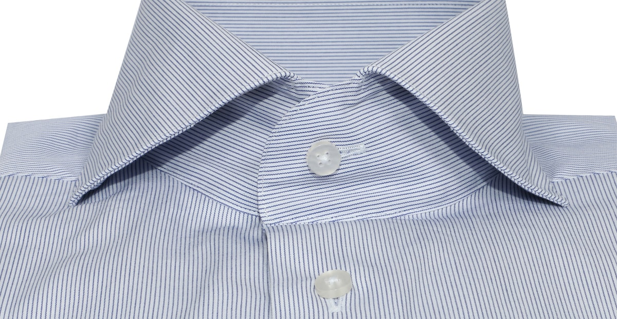 InStitchu Collection Seasonal Striped Medium Blue