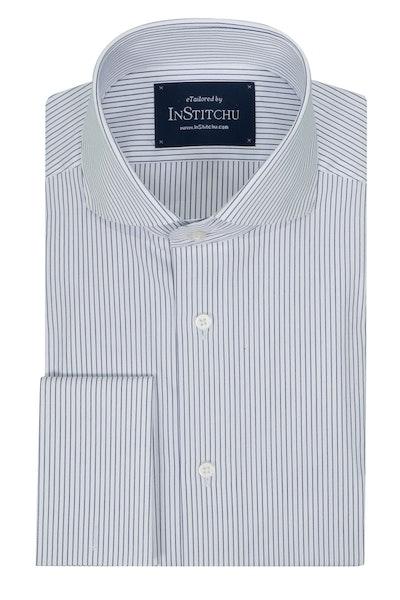 InStitchu Collection Seasonal Striped Classic Blue