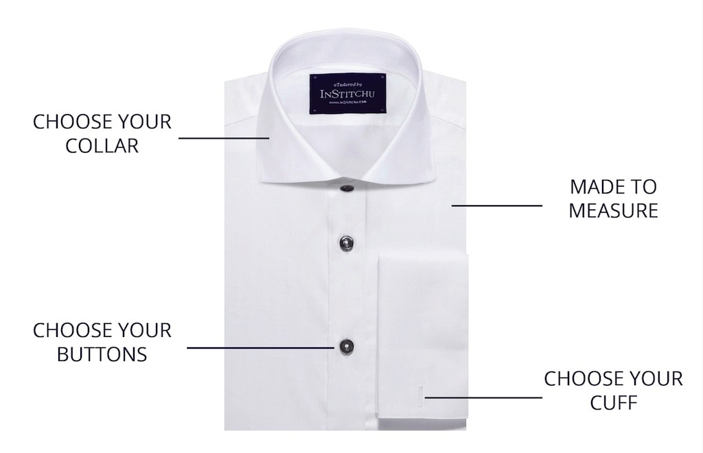 Details of white shirt